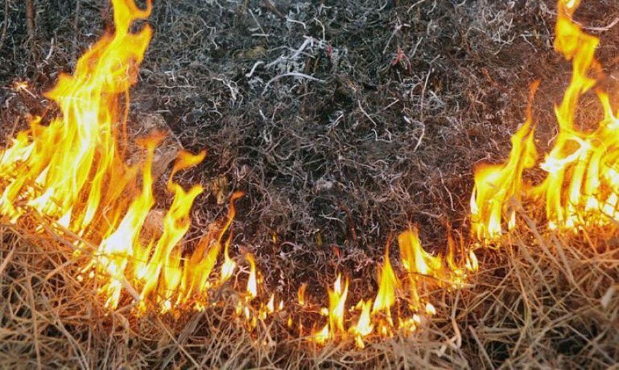 Будьте обережні з вогнем!