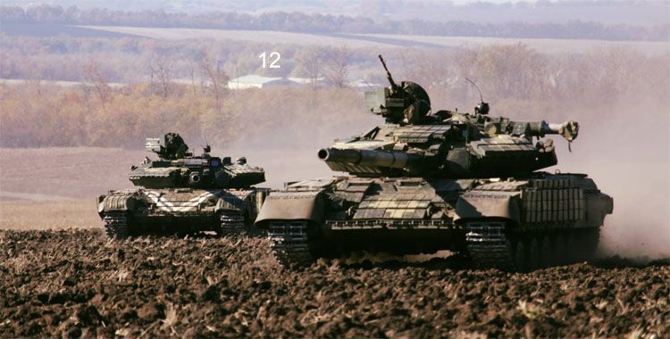 Под Черниговом формируется отдельный танковый батальон