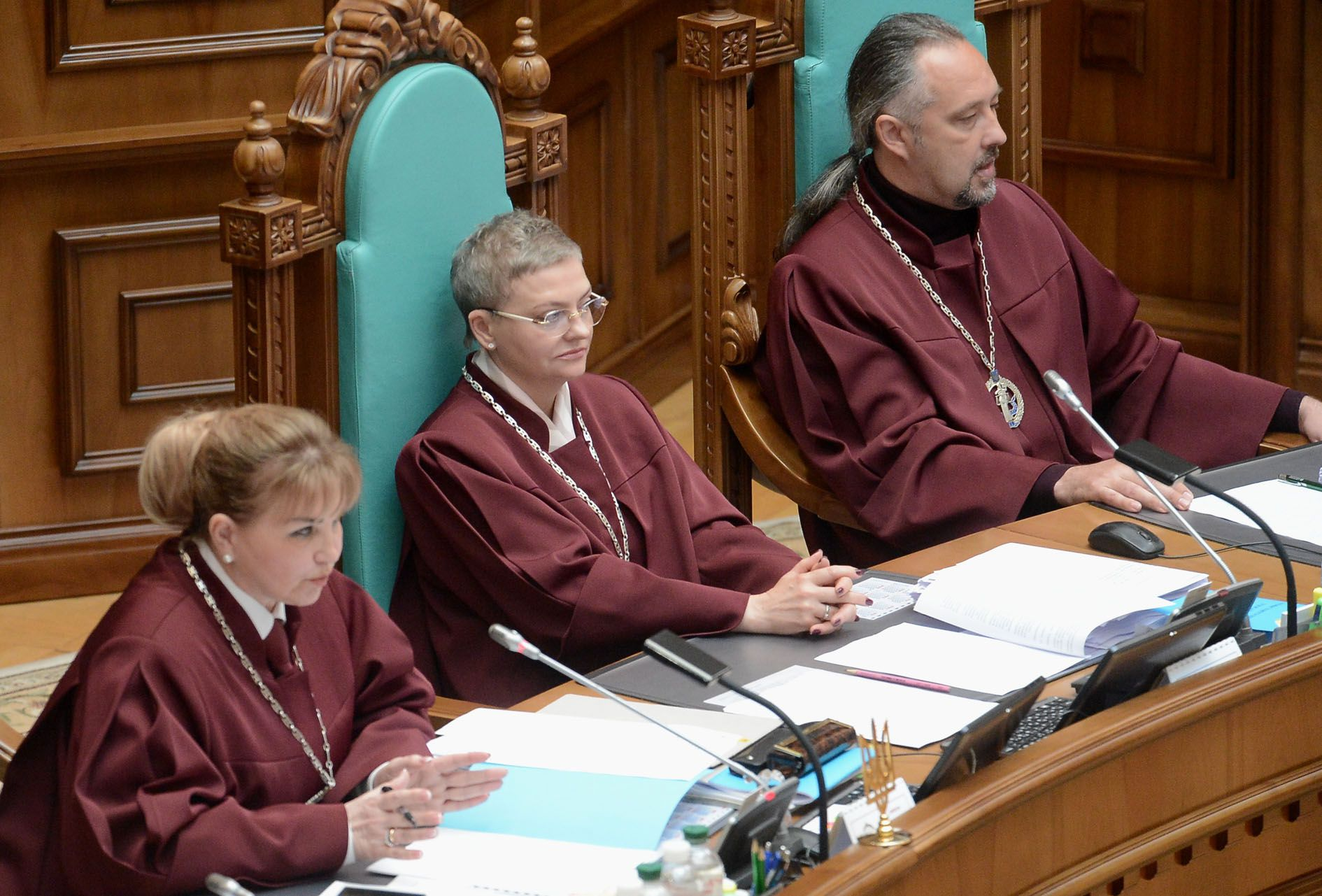 Verfassungsgericht der Ukraine geriet in komplizierte Situation