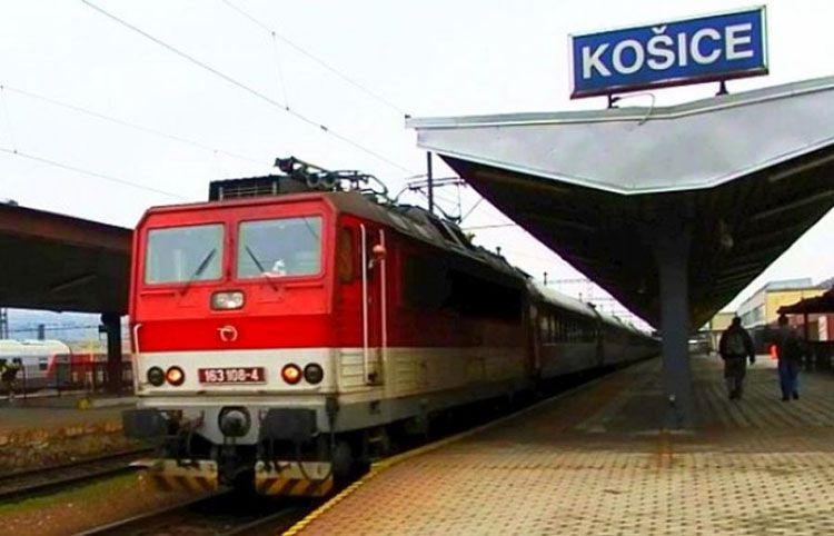 Зі Словаччини до Мукачева прибув перший потяг