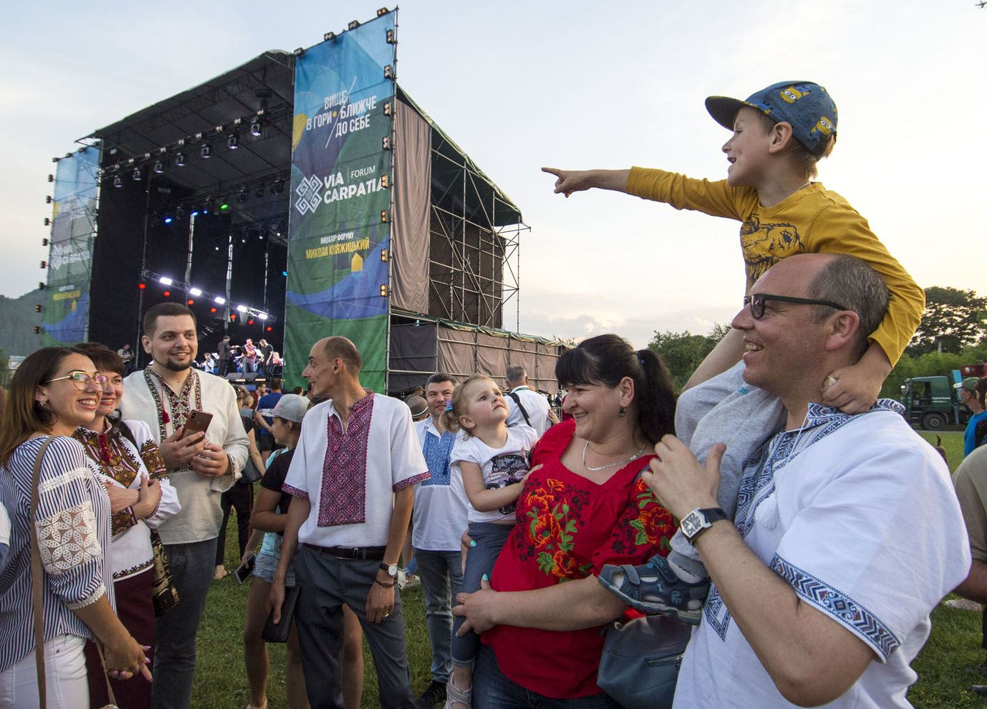 Андрій Парубій: «Ключові етапи розвитку України — збереження національної ідентичності, вступ до ЄС і НАТО»