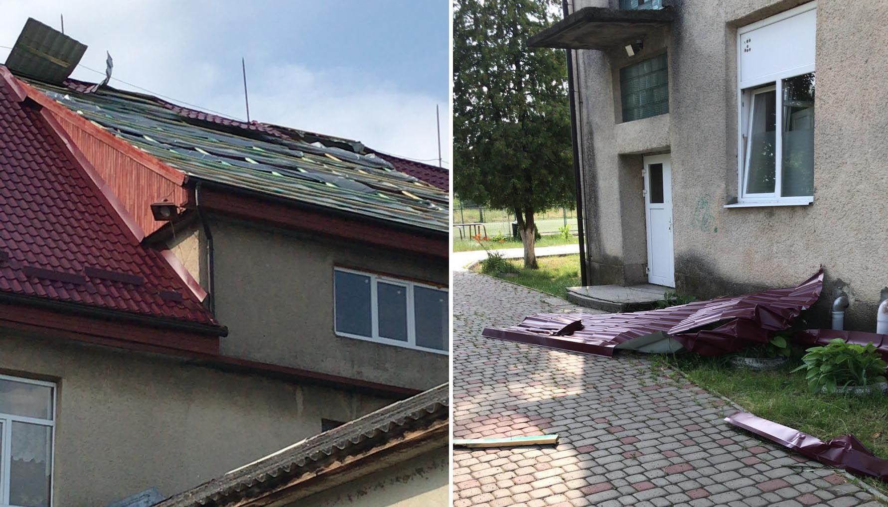 Через буревій постраждало кілька сіл Закарпатської області