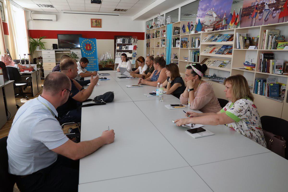 У Запоріжжі ділилися досвідом у «живому форматі» діалогу