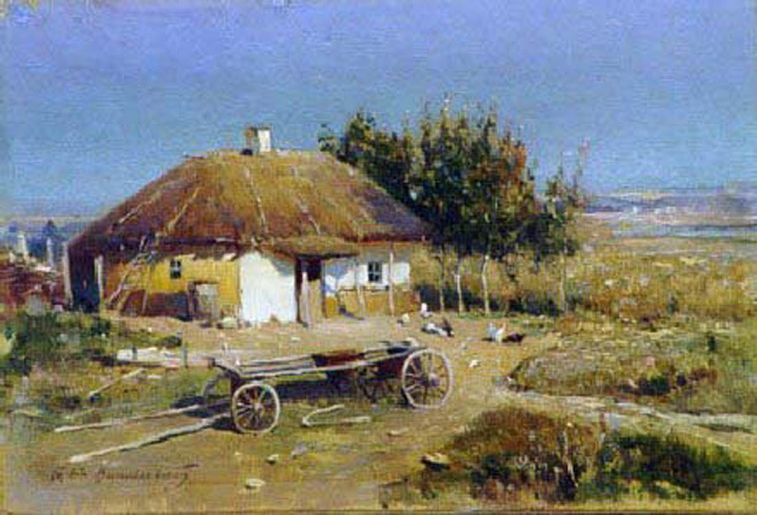 Перша професійна художниця України
