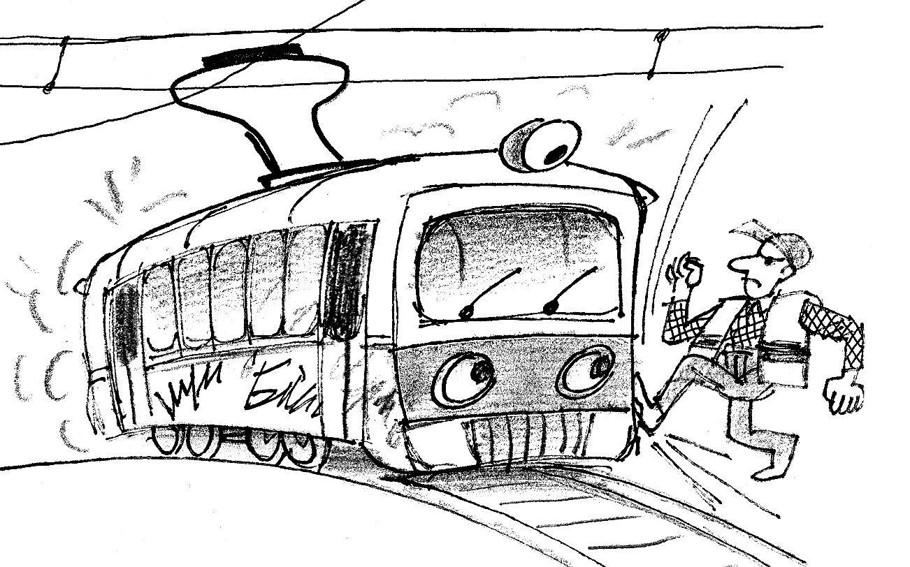 Сповідь старого Трамвая