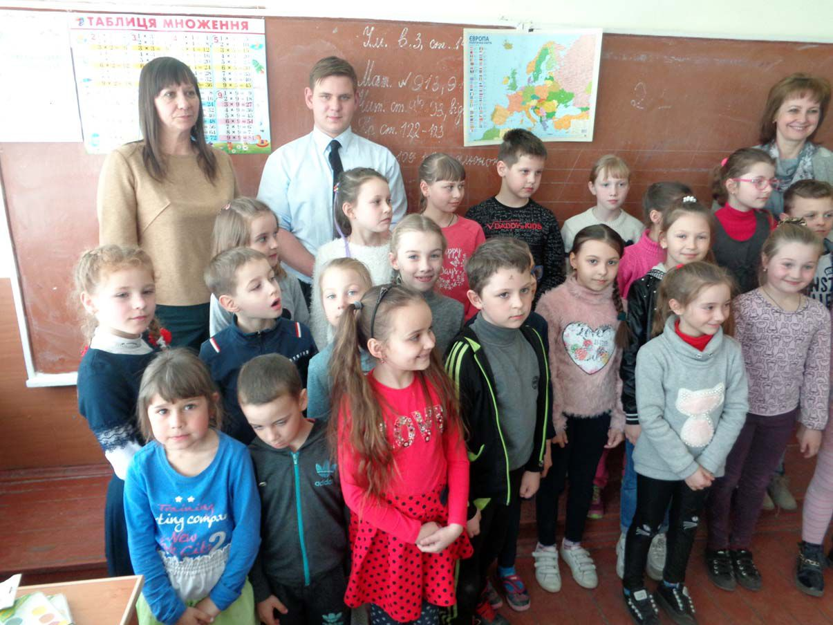 Французького волонтера найбільше вразила незряча дівчинка, яка співала «Марсельєзу»