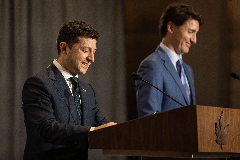 V. Zelensky en Canadá: la devolución de Crimea y la paz en Donbas constituyen una garantía del sueño sosegado en Europa y en el mundo