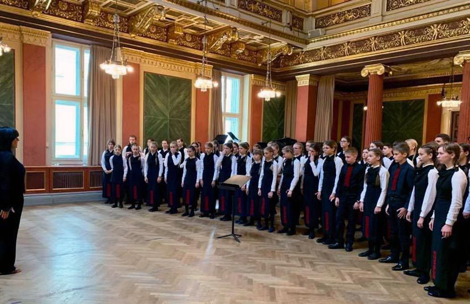Детский хор «Щедрик» победил в Вене