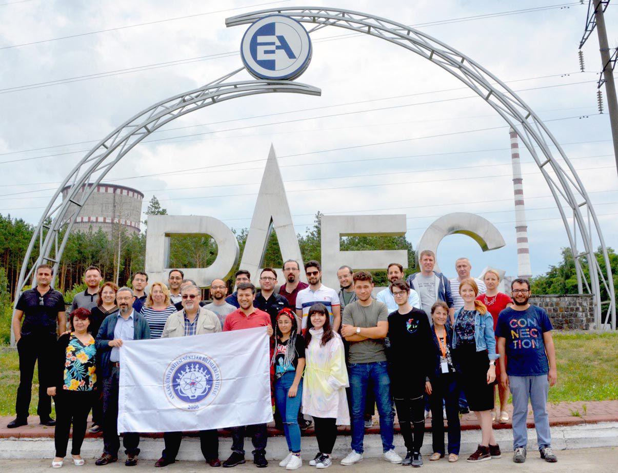 РАЕС відвідали студенти-ядерники з Туреччини