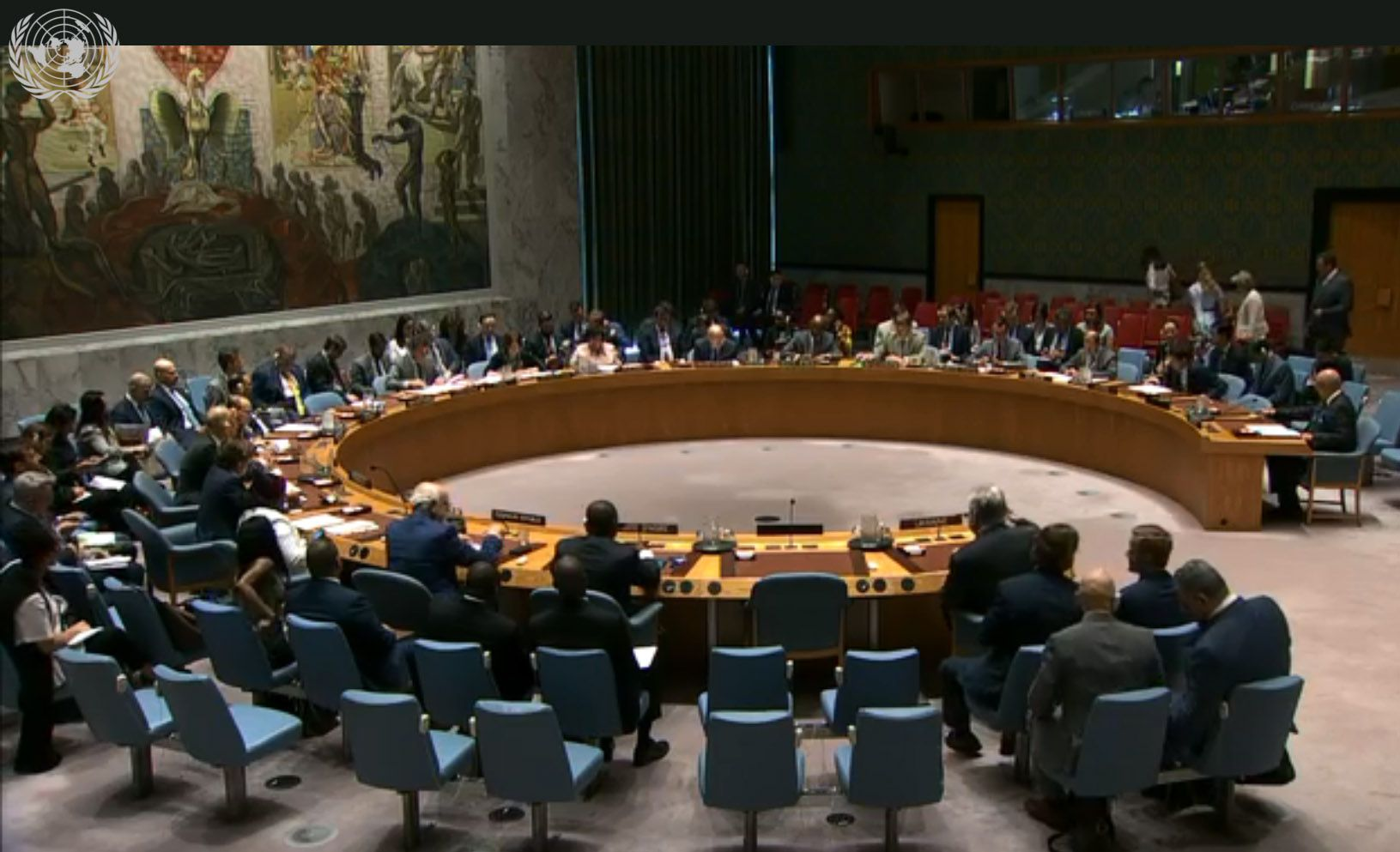 The language law in UN Security Council: what they spoke about