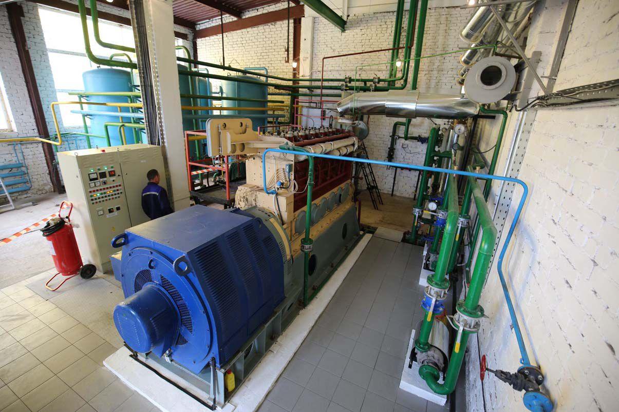 Теплоснабженцы Хмельницкого работают на собственной электроэнергии