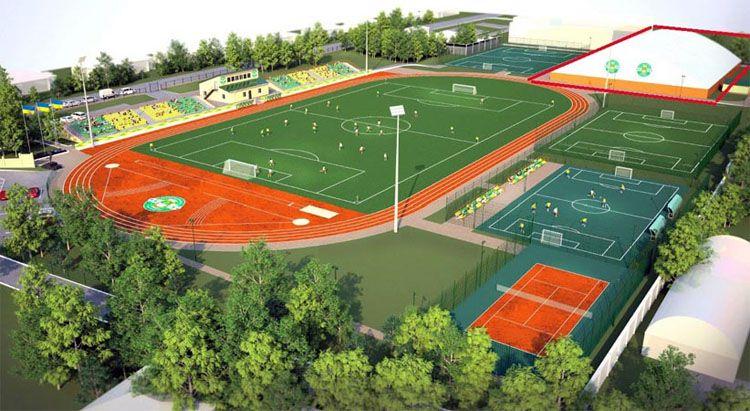 На Сумщині реконструюють стадіон