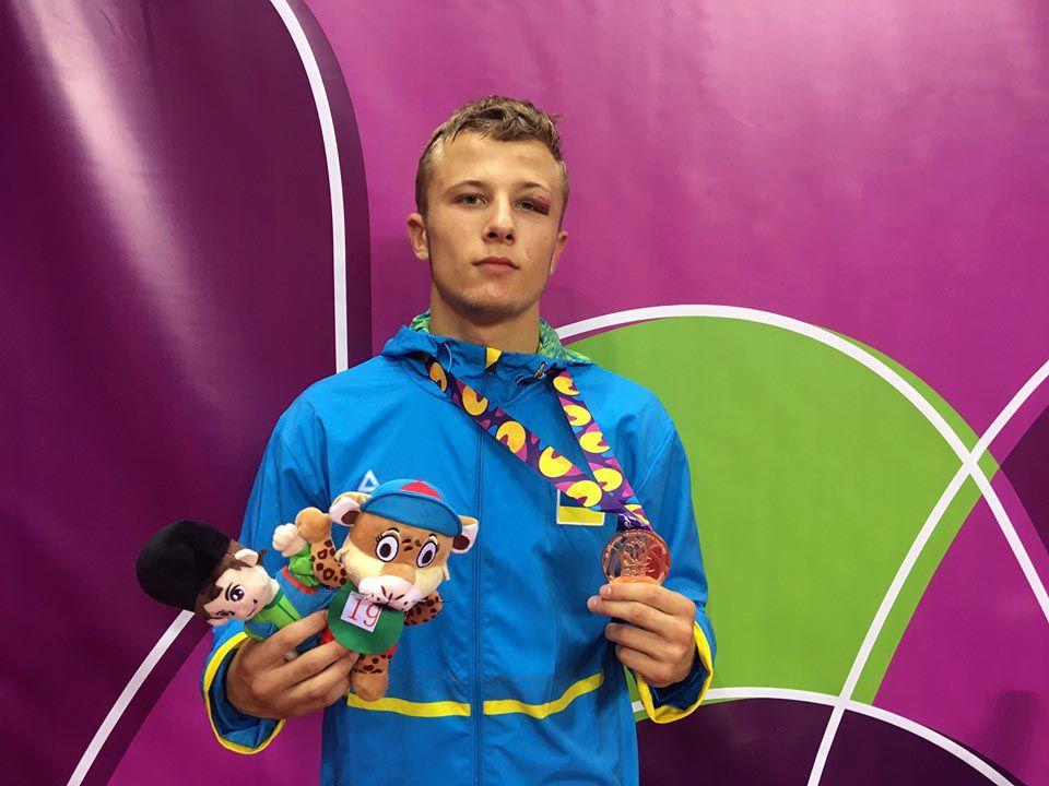 Здобув «бронзу» на олімпійському фестивалі