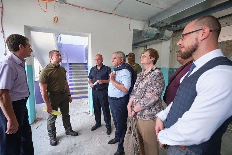 Уряд Литви профінансує реконструкцію школи в Авдіївці