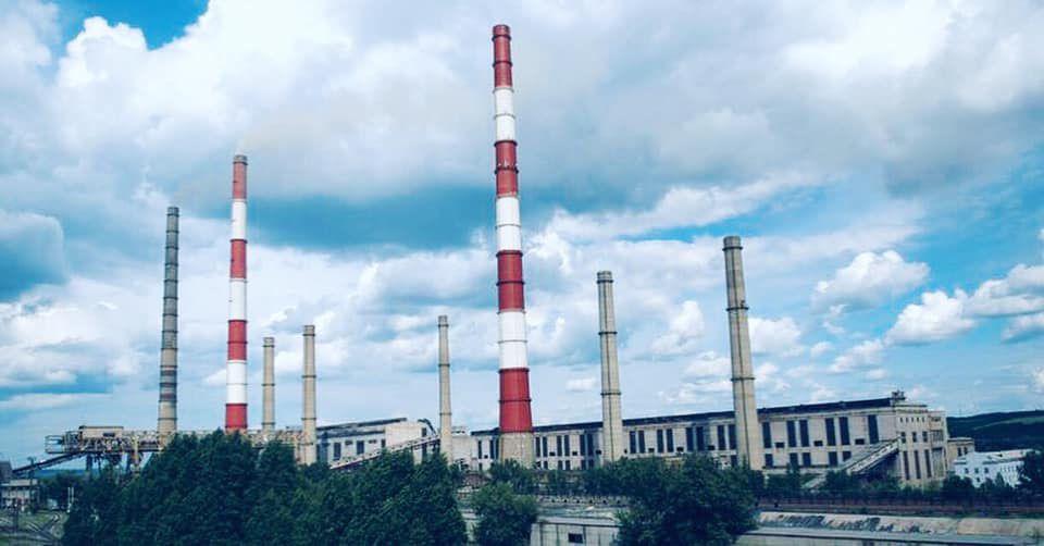 Луганську ТЕС перевели з вугілля на газ