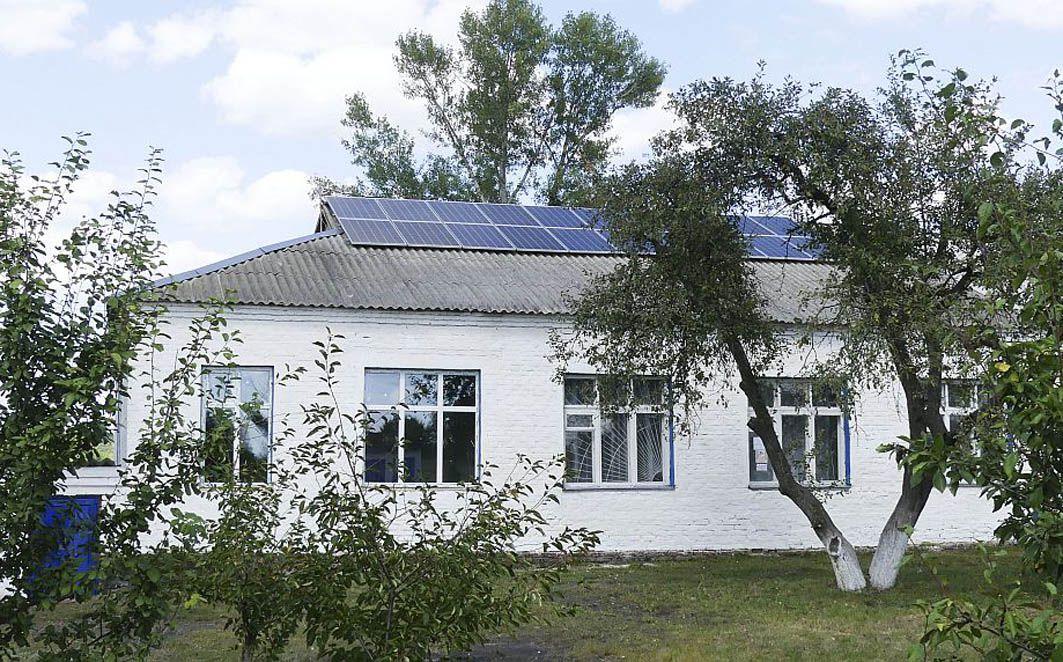 На Полтавщині школу підключили до Сонця