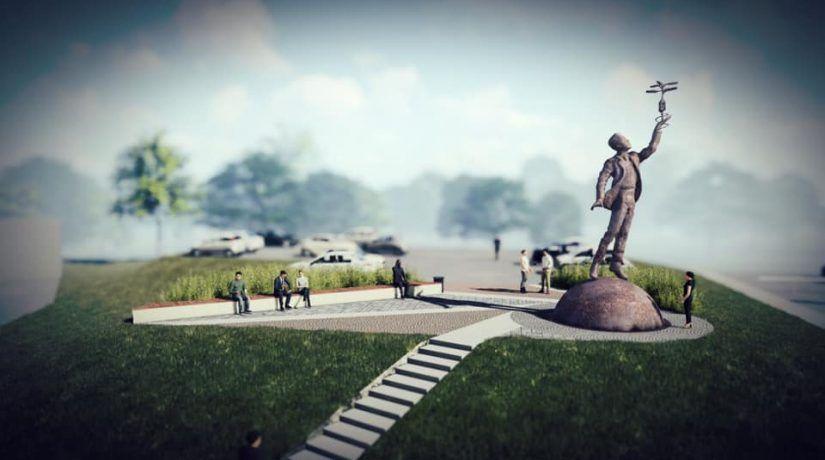 Пам'ятник видатному киянину постане в аеропорту