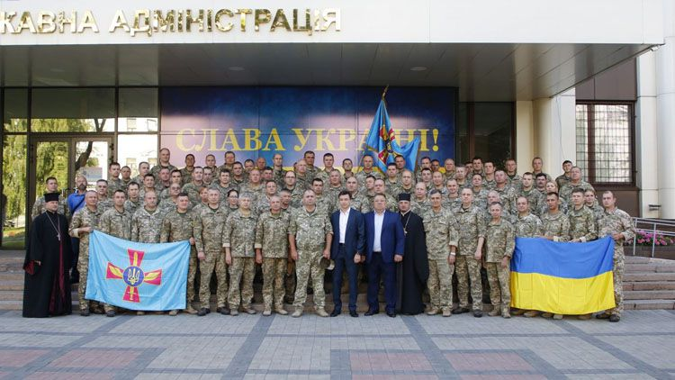 У Дніпрі відбулися збори Повітряних сил