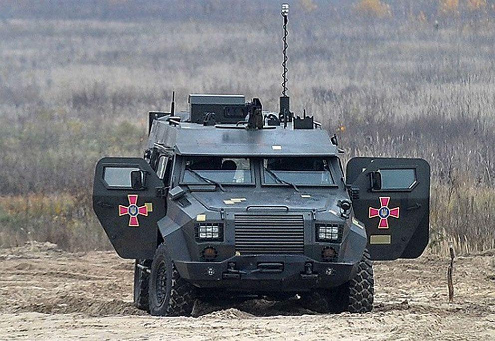 «Барс-8»  готовий  до оборони  й атаки