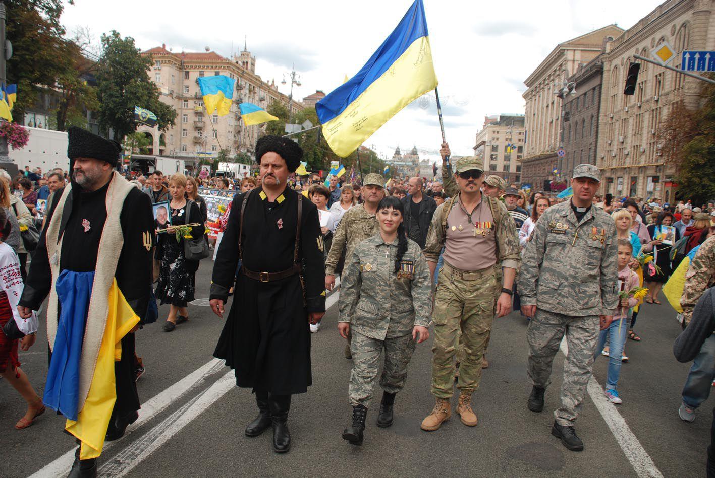 Громадський парад буде! Патріоти пройдуть маршем 24 серпня