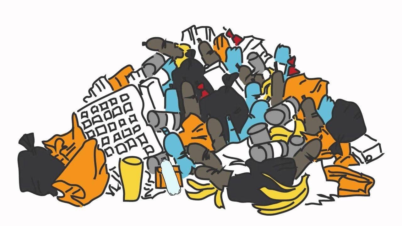 Приберіть стихійне сміттєзвалище!