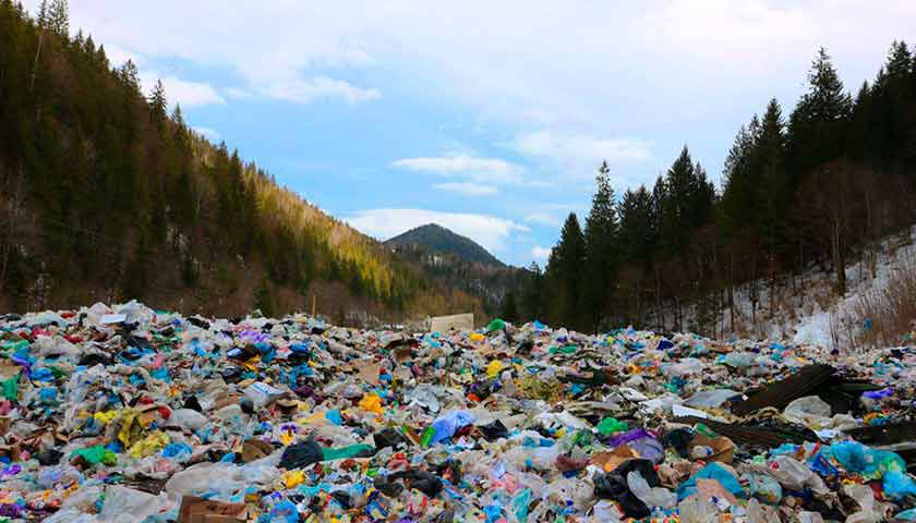 Як терміново на Закарпатті переробити і вивезти сміття