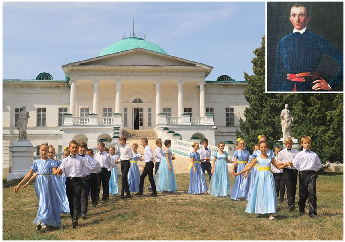 Двовіковий ювілей Галагана святкували в його палаці