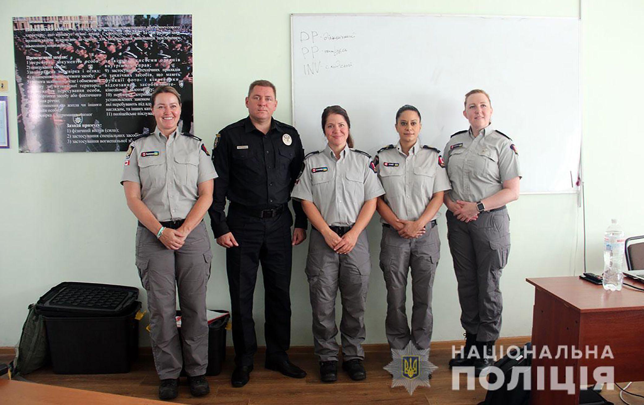 У Житомирі правоохоронців навчатимуть канадські колеги