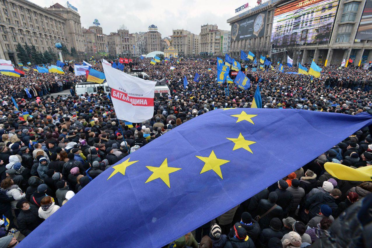 Євромайдан. Народне віче в Києві