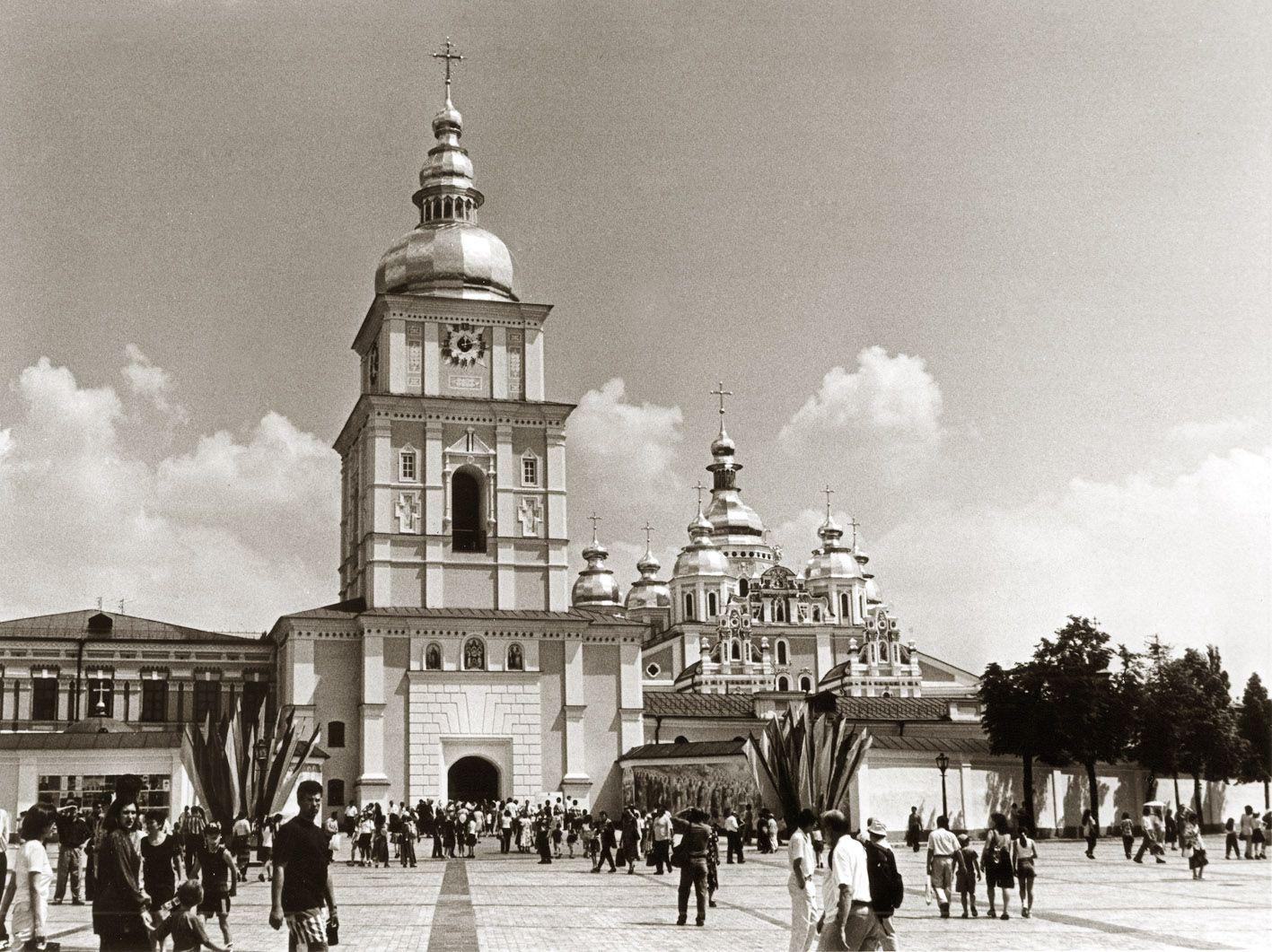 Відкрито відбудований Михайлівський Золотоверхий собор