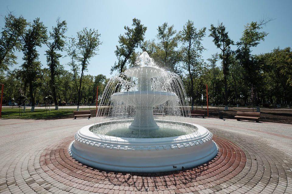 Оновлені парк «Ювілейний» і бульвар «Шахтарський»