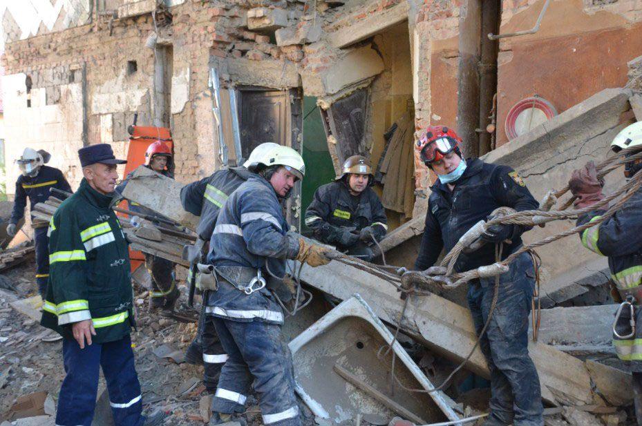 У Дрогобичі завершили рятувальні роботи
