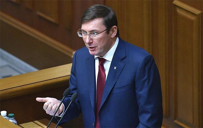 Про надання згоди на звільнення Президентом України Луценка Ю. В. з посади Генерального прокурора України
