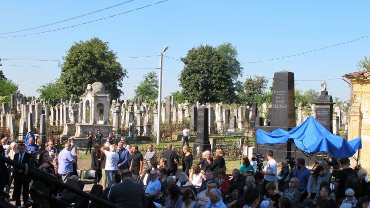 У Чернівцях на єврейському цвинтарі згадали жертв Голокосту