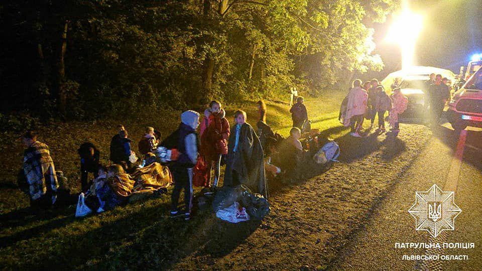 Юні танцюристи потрапили у ДТП во Львовской области
