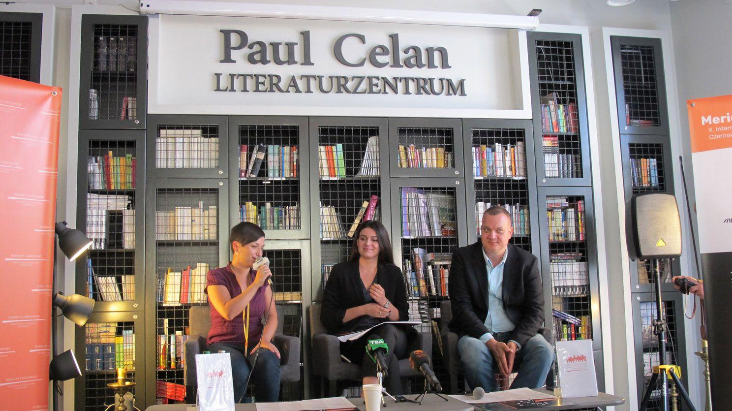 Meridian Czernowitz: Поэт приглашает на кофе