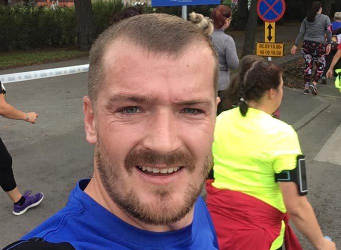 Ветеран АТО здолав марафон нескорених