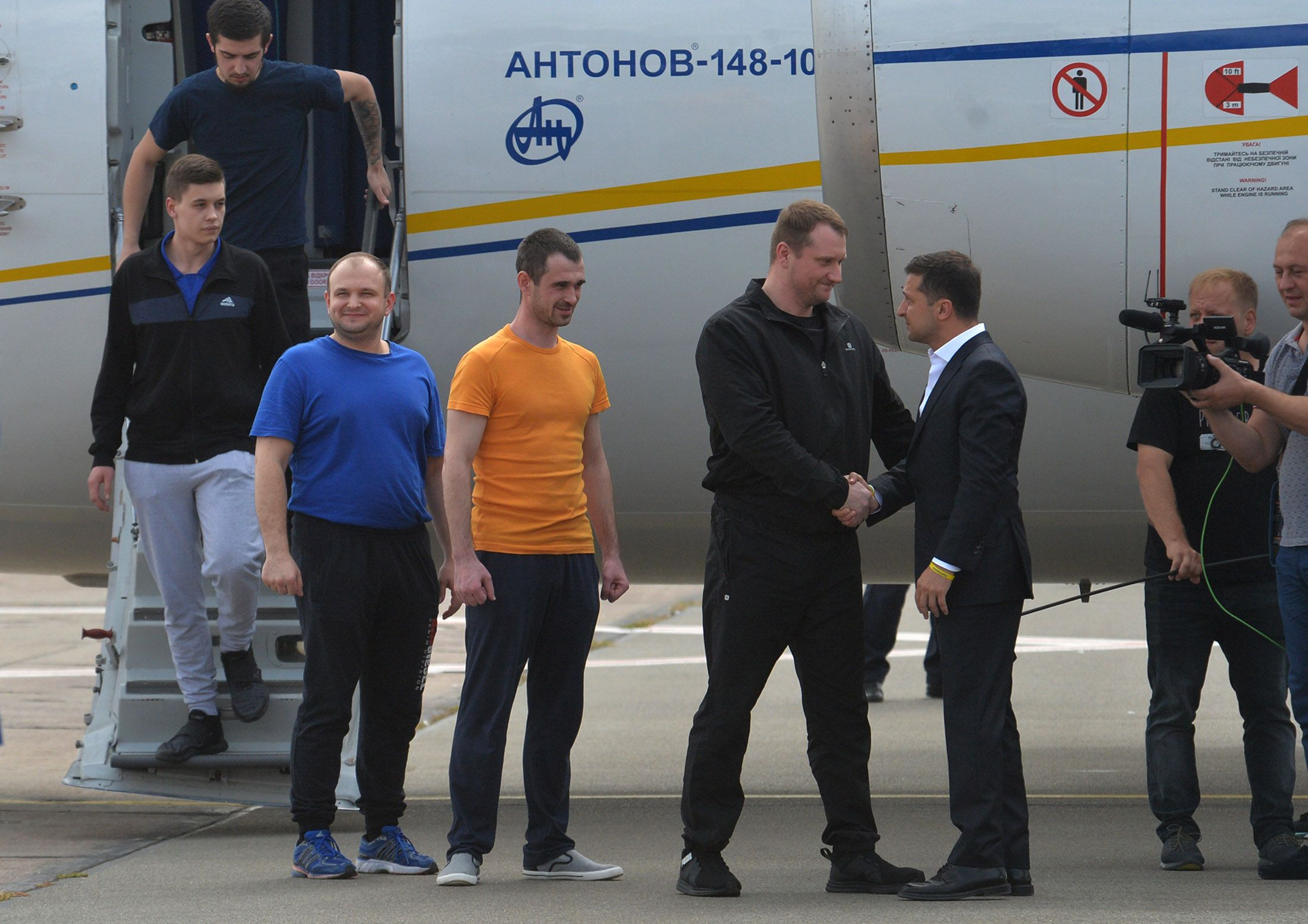 Intercambio síncrono ucraniano-ruso