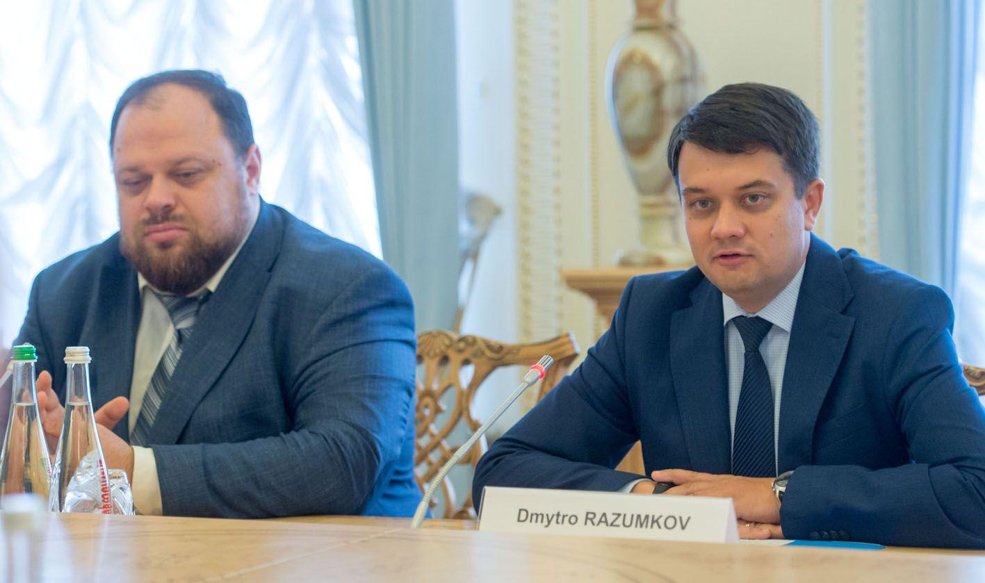 Dmitro RAZUMKOV: será preservado el curso hacia la UE y la OTAN