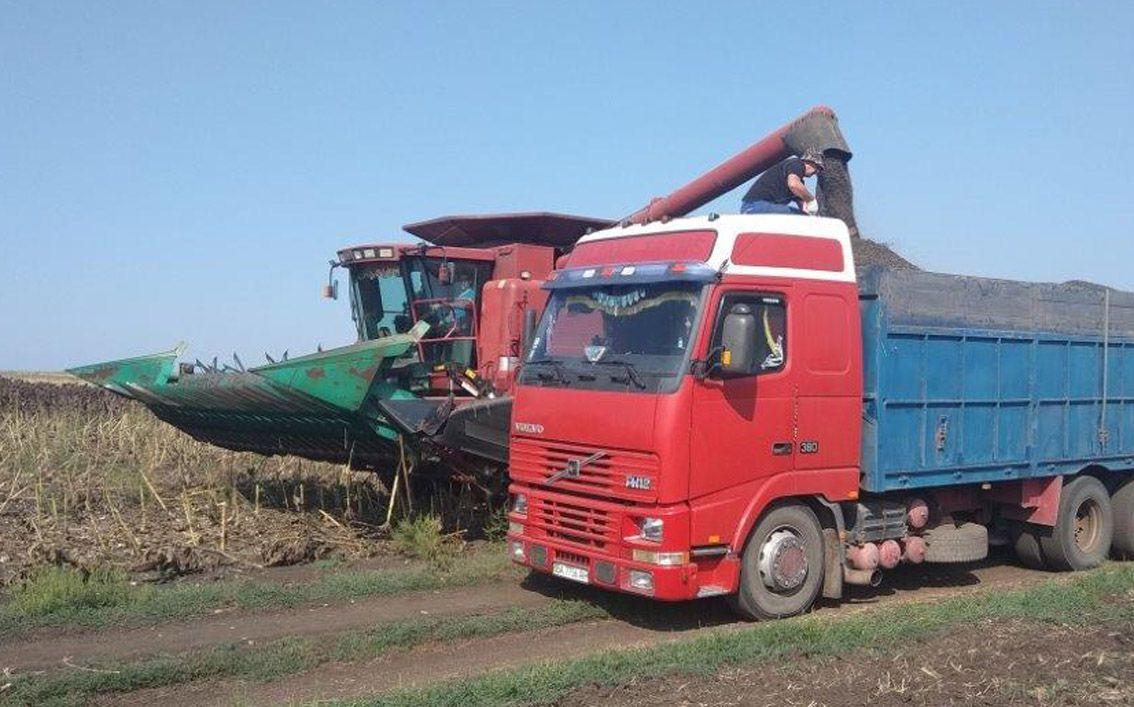 На Донеччині завершився збір ранніх зернових