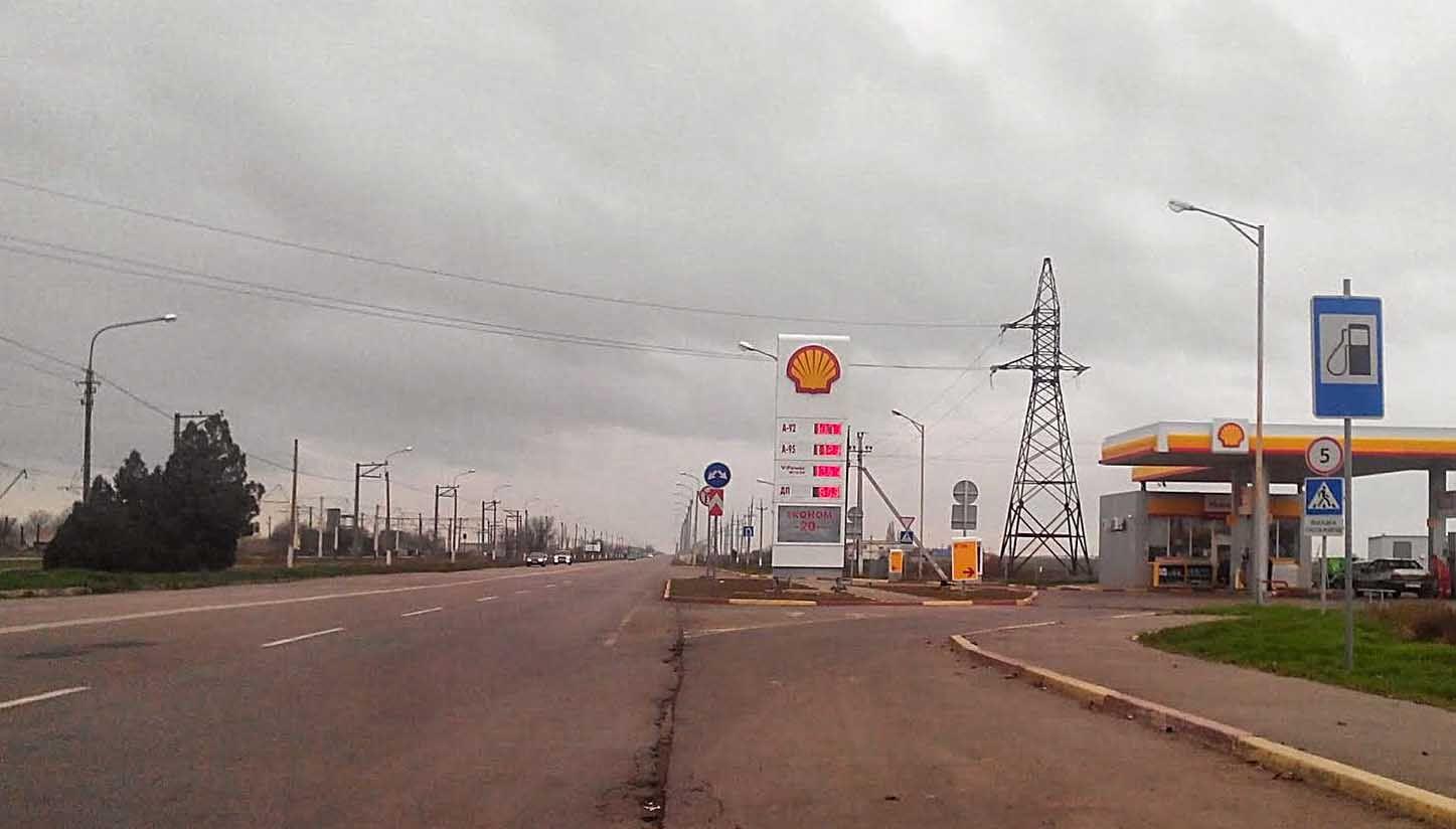 Обмежили рух курортною трасою Херсон — Нова Каховка — Генічеськ