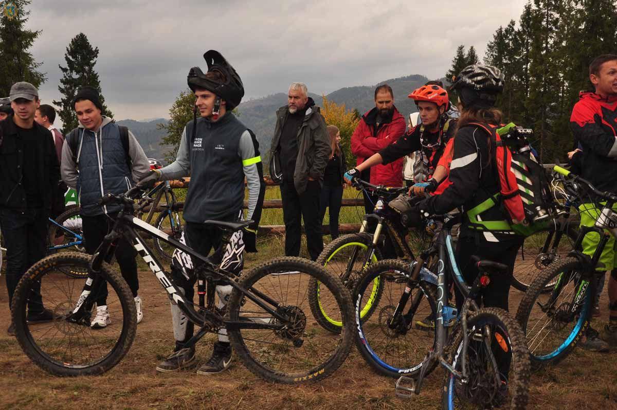 В горном Сколевском районе новая велотрасса