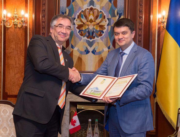 З Канадою продовжуватимемо співпрацю щодо втілення реформ