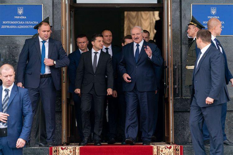 Володимир Зеленський: «Чудово, що Білорусь залишається для України надійним партнером»