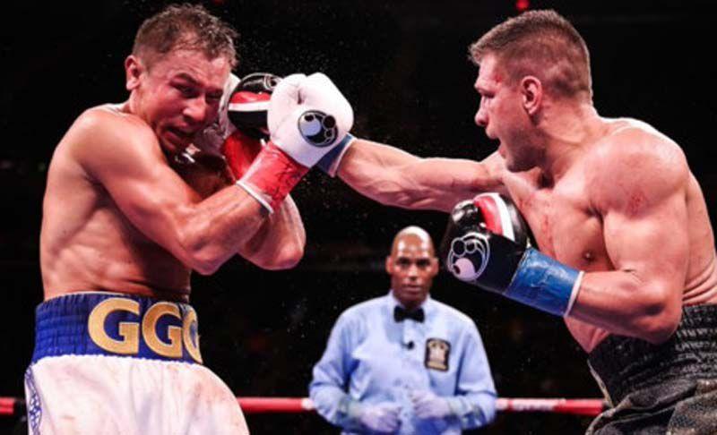 Овация...  побежденному боксеру