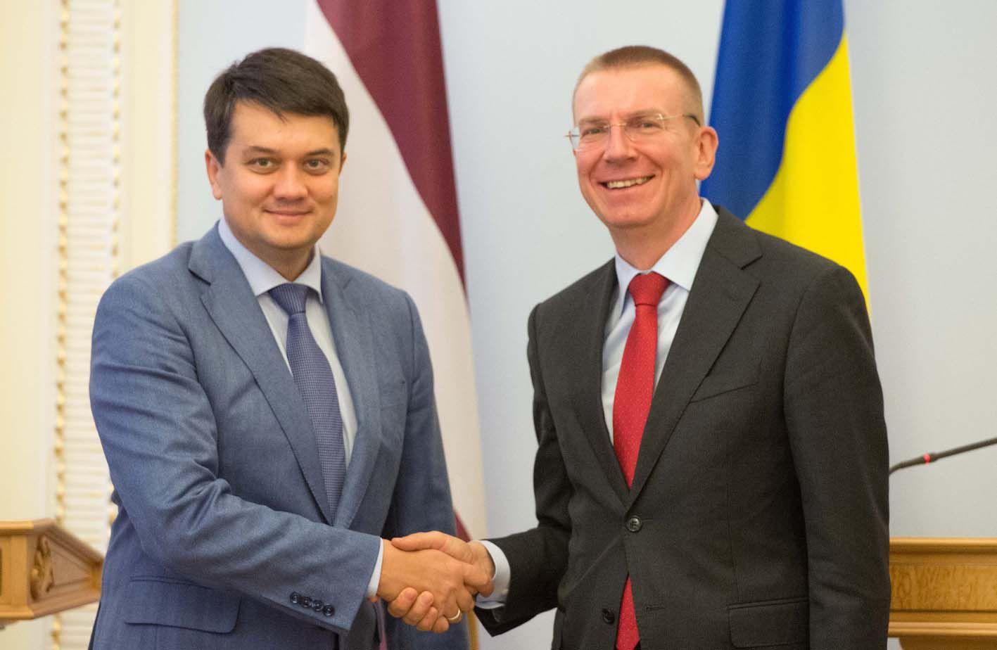 Цінуємо підтримку та принципову позицію Латвії у ПАРЄ
