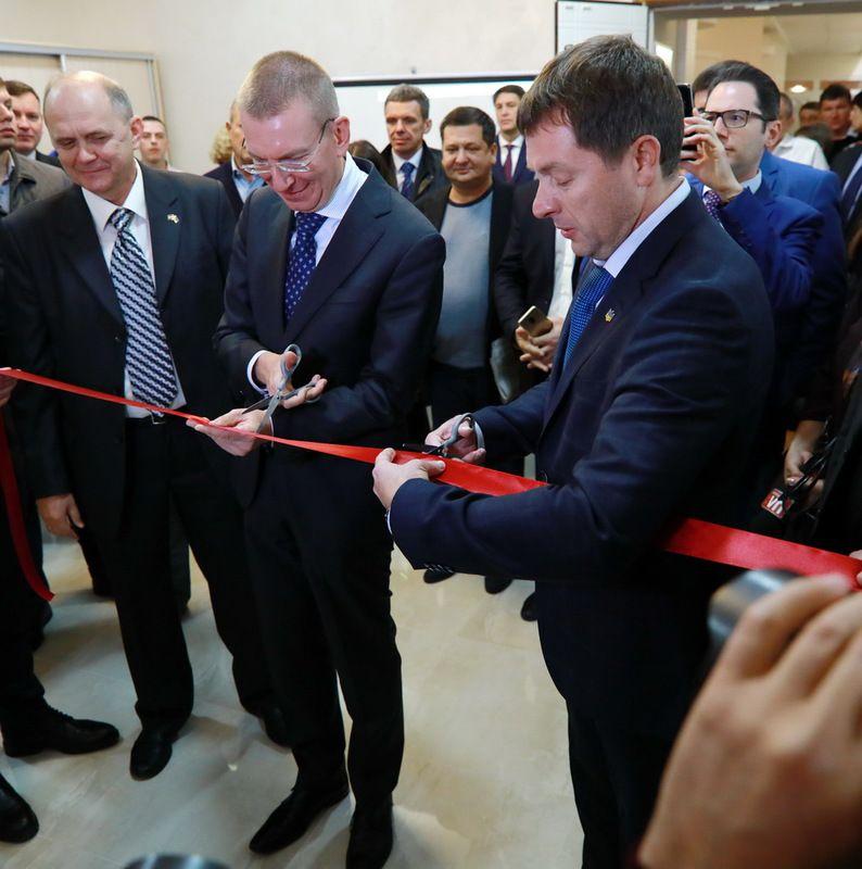 У Запоріжжі відкрили Почесне консульство Латвійської Республіки