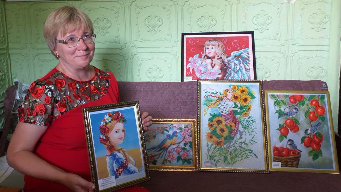 Мирослава Лішенко: «Коли вишиваю бісером, то обмірковую проблеми громади — і приходять рішення»