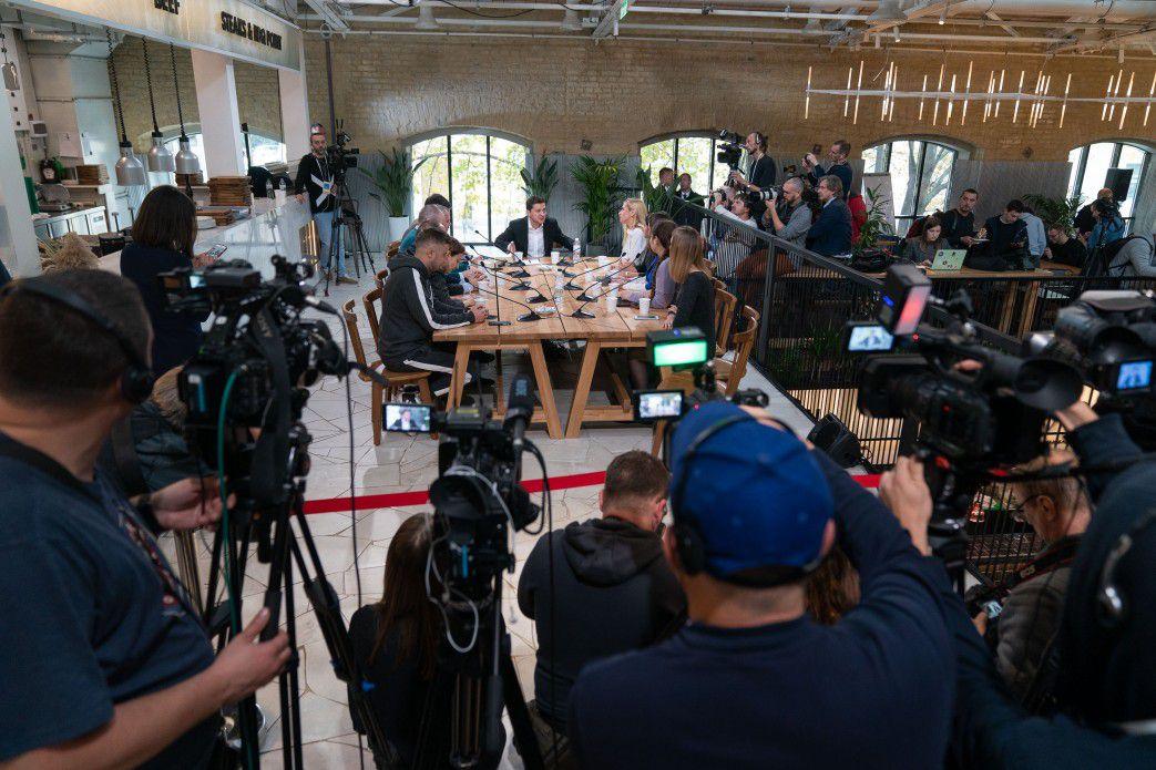 Ukrainischer Präsident stellte Weltrekord auf