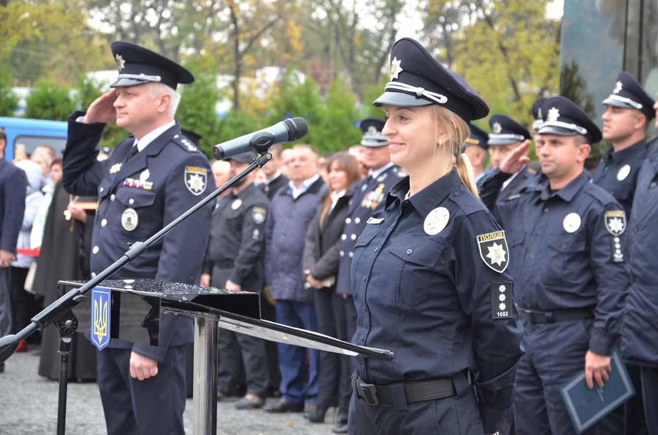 На Дніпропетровщині майбутні поліцейські склали присягу